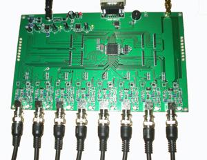 HF高频天线多路复用器