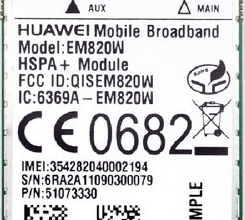 华为模块EM820W型号价格