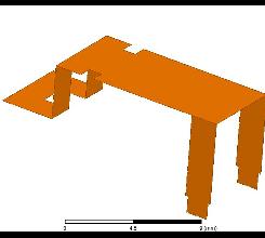 Myantenna通用紧凑对称型2.4GHz天线