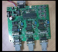 三轴/3D 电机控制驱动器