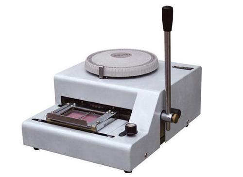 手动PVC卡凸字打码机