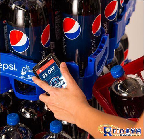 NFC技术助力提升百事可乐销量