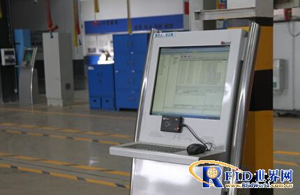南车时代电动引用先进RFID技术进行精益制造