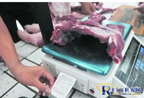 湖南红星盛业食品公司利用RFID记录猪肉的溯源信息