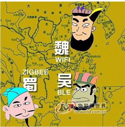 Wi-Fi、ZigBee、BLE无线三国杀