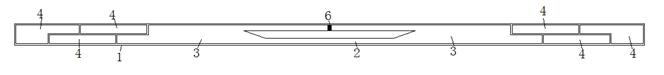 一种可密集读取的超宽带电子标签