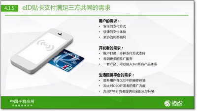 """360联合工行、金联汇通推出基于NFC手机的""""eID贴卡支付"""""""