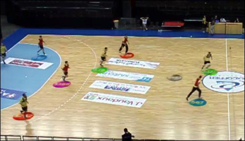 法国手球队使用可穿戴RFID传感器进行日常训练