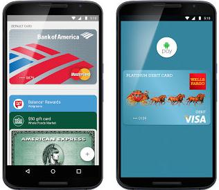 谷歌正式在美推出移动支付服务Android Pay