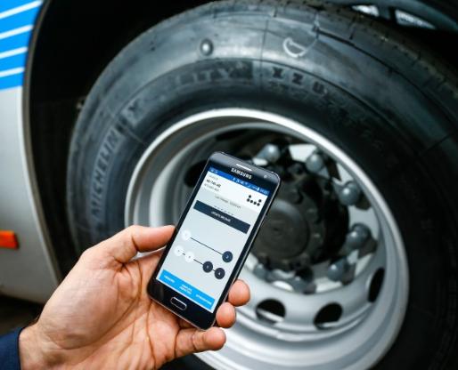 米其林發布手機端輪胎應用軟件 可配合RFID使用