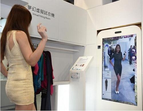 资策会发布RFID感测式衣架、虚拟试衣机,打造智慧试衣间