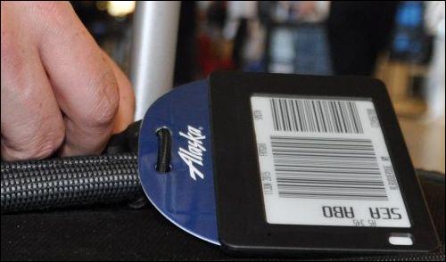 阿拉斯加航空采用RFID电子行李牌