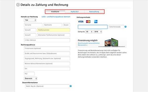 苹果德国在线商城付款方式改变 Apple Pay或择日登陆