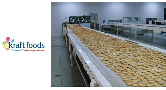 卡夫食品的饼干检测系统