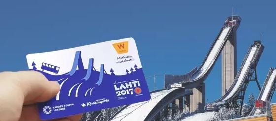 康芬戴斯为2017年拉赫蒂国际滑雪联合会北欧滑雪世界锦标赛提供智能票证