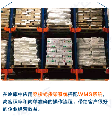 国内冷库行业采用RFID系统的穿梭式货架案例