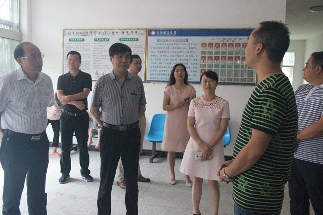 彭振国赴炎陵专题调研贫困人口居民健康卡发放与应用工作