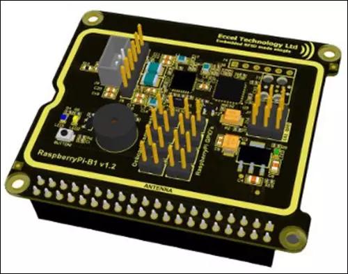 Eccel推出Raspberry Pi 开发板,支持RFID/NFC功能