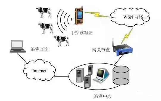 RFID 与 WSN 结合的养殖信息溯源方案