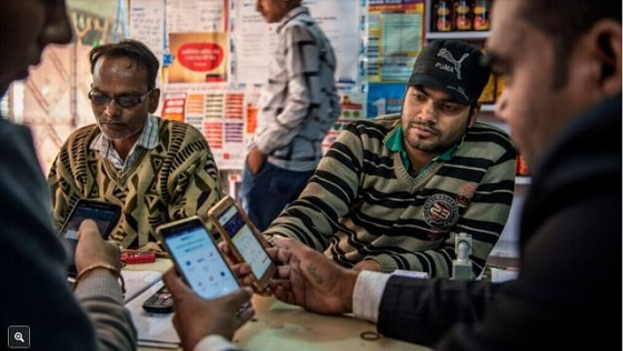 科技公司在印度推行移动支付遇阻 民众不买账更青睐现金