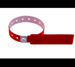 超高频一次性软PVC腕带