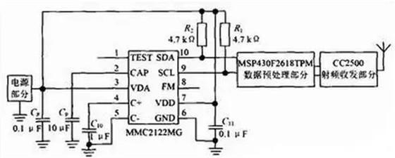 基于WiFi的RFID可扩展AMR车位检测系统电路设计