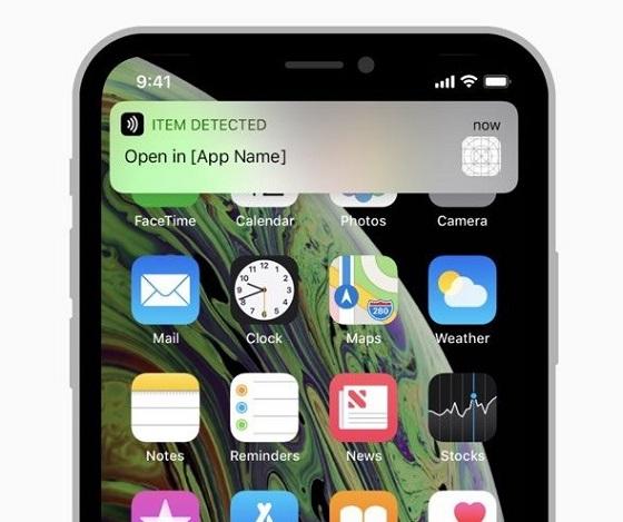 2018款iPhone支持后台NFC标签阅读 无需调用App