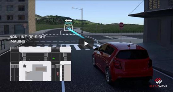 Metawave研发一款毫米波雷达传感器及天线