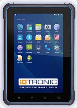 iDTRONIC推出新款平板电脑,内置RFID及条码读取器