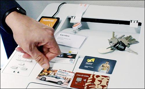 共享办公场所使用RFID技术 ,保证打印过程安全