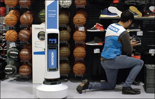 迪卡侬使用RFID读取机器人,实现门店库存自动管理