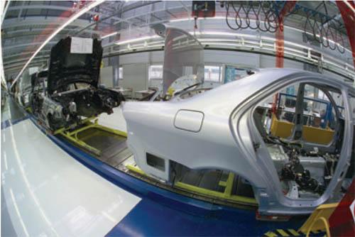 汽车制造行业MES系统