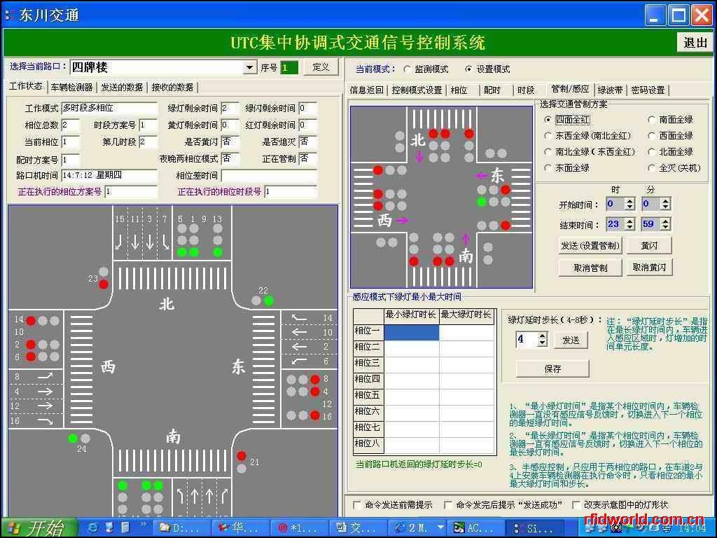 交通信号控制系统软件