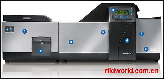 Fargo HDP600-CR100再转印证卡打印机