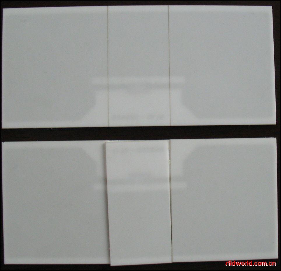 陶瓷挡风玻璃电子标签