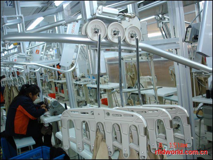 服装生产线吊挂系统